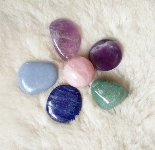 kristalliteraapia kristallid