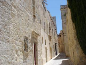 Mdina kitsad tänavad