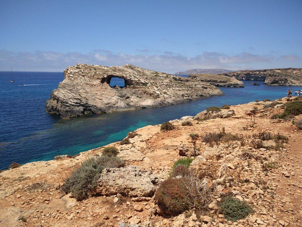 Sinine laguun kaljud