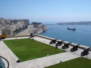Valletta vaade merele