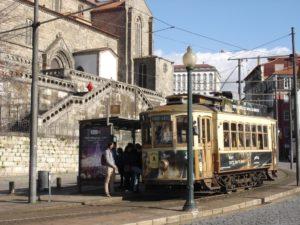 Porto tänav ja tramm