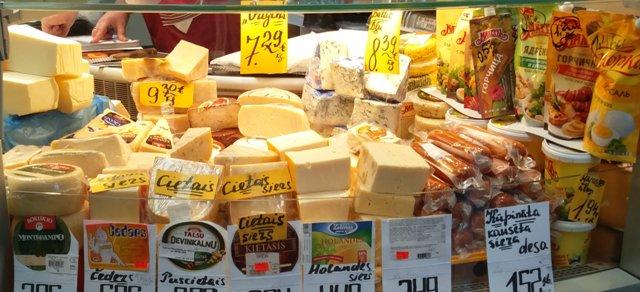 Riia Keskturg ja juustulett
