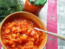 Suvine suvikõrvitsa ja tomati hoidis