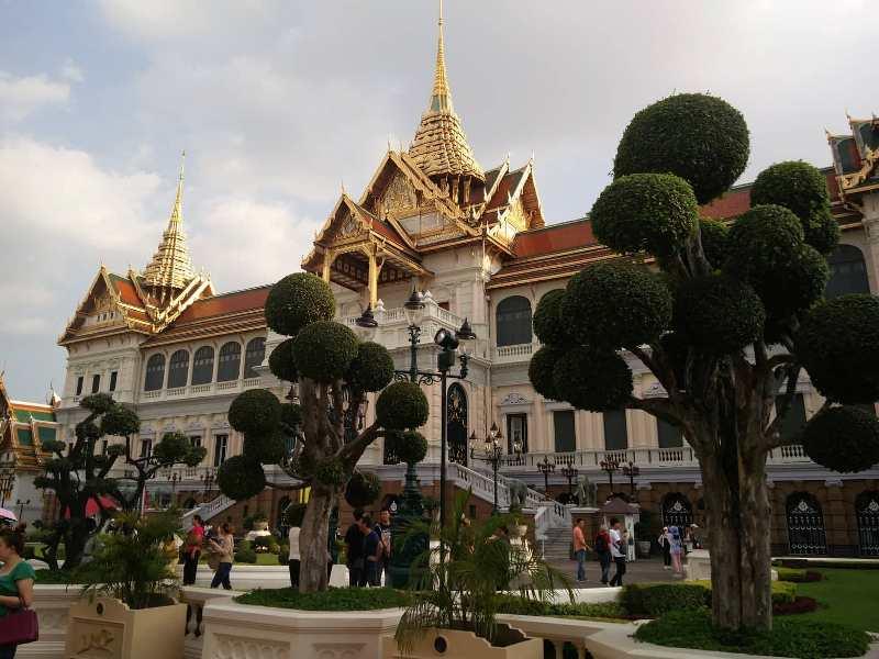 Grand Palace gardens