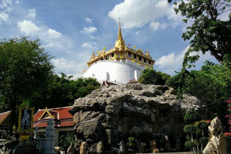 Wat saket Golden Mount Bangkok
