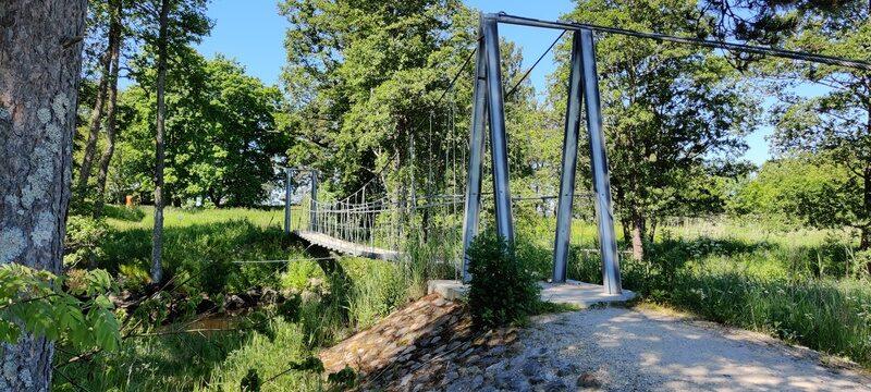 rippsild üle Altja jõe