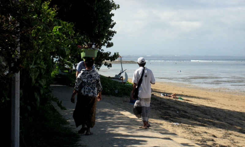 inimesed Bali saarel
