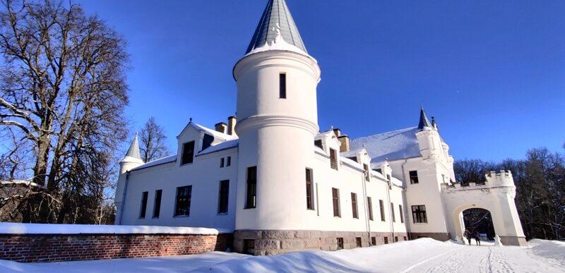 Alatskivi loss talvel