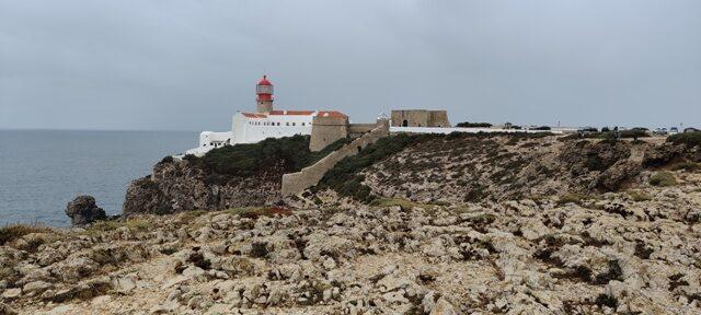 Cabo de Sao Vicente tuletorn Algarve